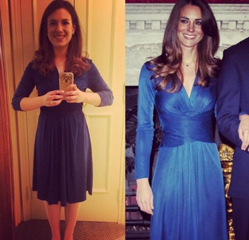 Meet the woman recreating Kate Middleton's outfits for half the price