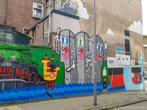 Discovering the Wonderful Street Art of Rotterdam