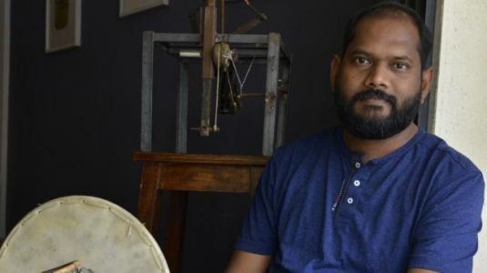 Dalit artist Prabhakar Kamble talks about the politics of identity