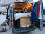 Kaya Lindsay transforms a van into a home on the road