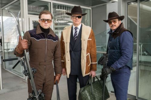 The Costumes in 'Kingsman: The Golden Circle' Were Inspired by 'International Ski Playboys'