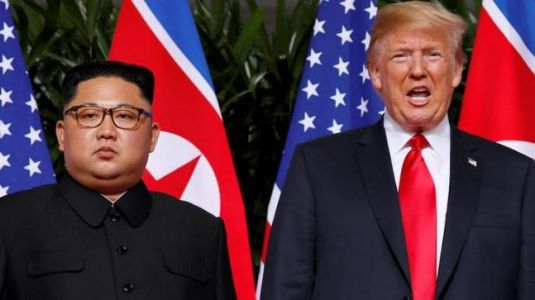 What did Trump and Kim have for lunch in Singapore? Full menu here