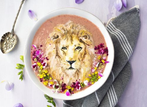 Animals in smoothies bowls is the edible art you never knew you needed