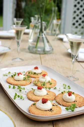 Recipe: Ruth Pretty's Cheese Shortbreads and Cauliflower Mousse