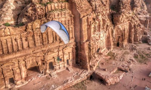 Wings over the desert: Stunning aerial images of Jordan that will blow your mind