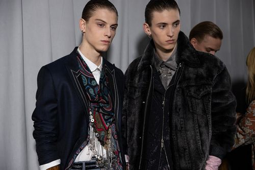 Dior Pays Tribute to Punk Iconoclast, Judy Blame in Men's Fall 2020 Collection
