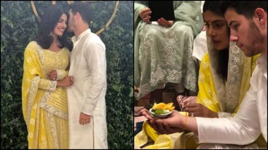 What Priyanka Chopra and Nick Jonas wore on their engagement day