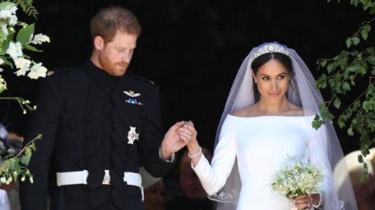 Meghan Markle wears Givenchy's Clare Waight Keller dress for her royal wedding
