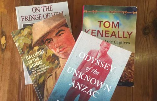 ANZAC book reviews: Odyssey of the Unknown Anzac, Gallipoli to the Somme, Shame and the Captives, Gallipoli: The New Zealand Story