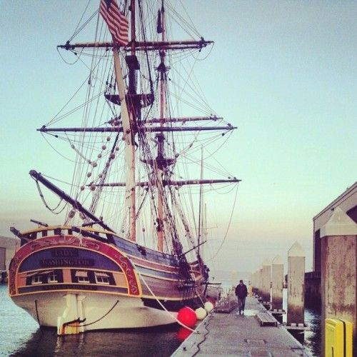 The ships have returned home to Pier 40 in San Francisco! Great