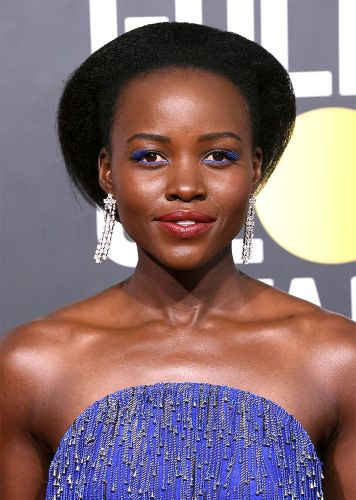 The Hidden Detail You Probably Missed in Lupita Nyong'o's Golden Globes Hairstyle