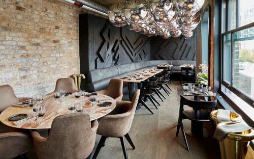 Kathryn Flett reviews Coal Office, London: 'A whole bunch of plates of almost jewel-like pretty-somethings'