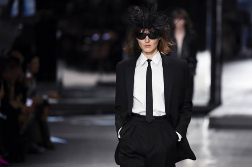 Hedi Slimane Brings His One-Trick Pony Act to Celine for Spring 2019