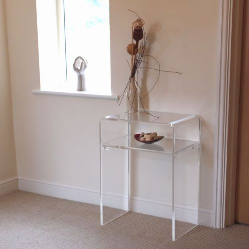 50 Elegant Clear Acrylic Console Table Pics