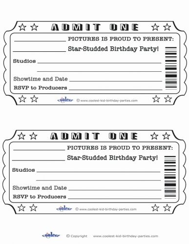 30 New Movie Night Invitation Template Graphics