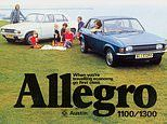 Book Auto Erotica is a grand tour through British car brochures from the 1960s to the 1980s