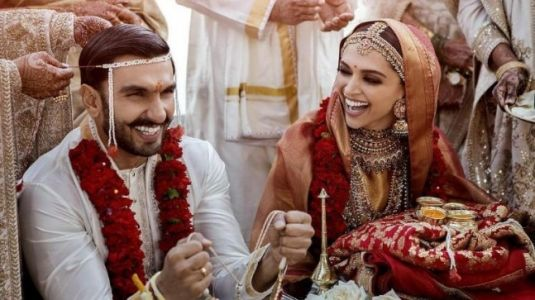Ranveer and Deepika wedding pictures out. This is what they wore on big day