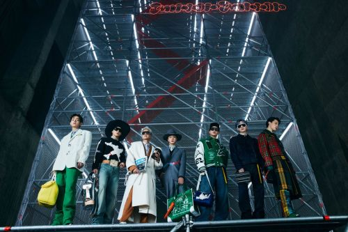 BTS Modeled Louis Vuitton's Fall 2021 Men's Collection in Seoul