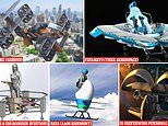 Personal flying machines of the future set to compete in 'fly-off'