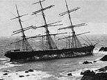 Shipwreck on beach more than 120 years after doomed voyage