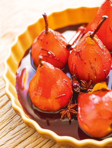 Recipe: Nadia Lim's Mulled-Wine Poached Pears