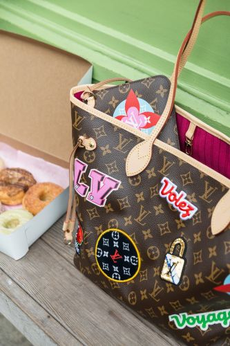 A Day With the Louis Vuitton Patches Neverfull MM