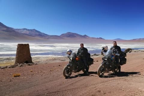 Exclusive Q&A with Long Way Up's Ewan McGregor and Charley Boorman