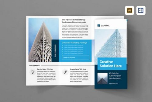 30 Luxury Tri Fold Design Template Pictures
