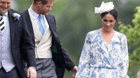 Meghan Markle Wore a Thing: Oscar de la Renta Dress Edition