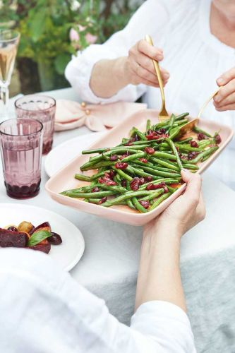 Recipe: Green Bean Salad with Cranberries