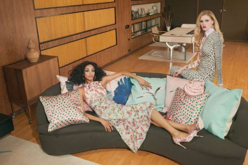 Brandon Maxwell's Interior Design-Inspired Prints Are Too Dreamy to Keep Indoors
