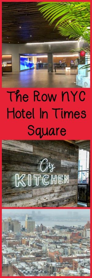 Review of the Row NYC Hotel in Times Square