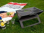 Amazon shoppers are snapping up this affordable folding portable picnic BBQ