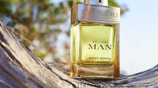 Bulgari Man's new Wood Neroli fragrance is an exploration of the brand's Mediterranean heritage