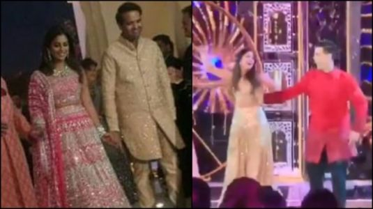 Isha Ambani and Karan Johar dance to Bole Chudiyan and it was epic. Watch unseen video