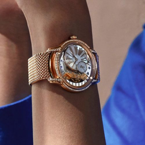 Audemars Piguet enriches its Millenary line with new bracelets and finishes