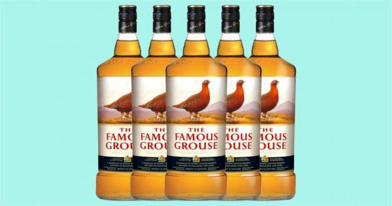 Morrisons is selling giant 4.5 litre bottles of The Famous Grouse whisky because sure, why not?