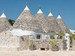 Stone huts off the coast of Italy offer holidaymakers a slice of cool for just £75 a night