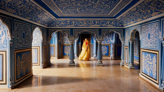 Live like a Maharaja at City Palace as Jaipur's royal family open up a suite with AirBnB