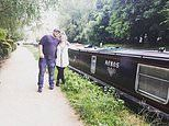 Family who struggled to get a mortgage move into a £40,000 narrowboat home