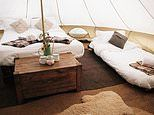The glampsite near Bath that offers a wildly wonderful post-lockdown escape