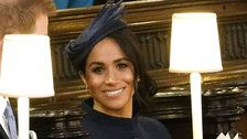 Meghan Markle Stuns In Givenchy At Princess Eugenie's Royal Wedding