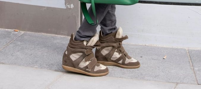 The Inevitable Has Occurred: Isabel Marant Is Bringing Back Her Wedge Sneakers
