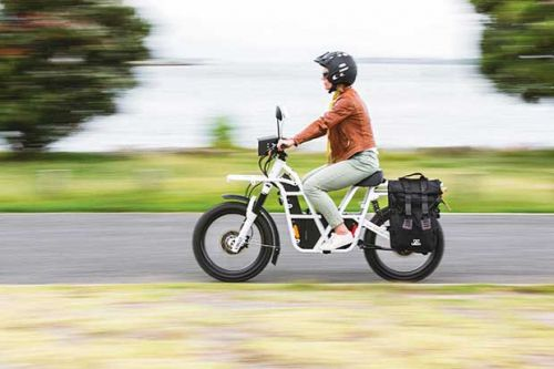 Demand growing in US for the award-winning electric utility bike 'UBCO' designed in New Zealand