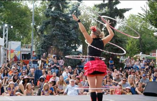 Prepare to be amazed at our very own Girl in the Ring: Hilarious hula-hooper Toni Smith