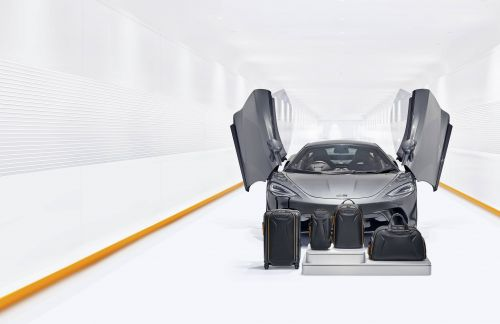 First Class Finish: TUMI and McLaren Unveil Luggage Capsule Collab