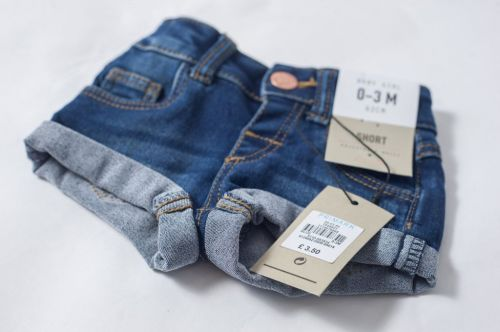 Primark are in trouble for selling denim hotpants for babies