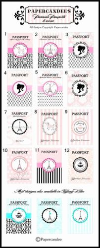 30 Awesome Passport Invitation Template Free Graphics