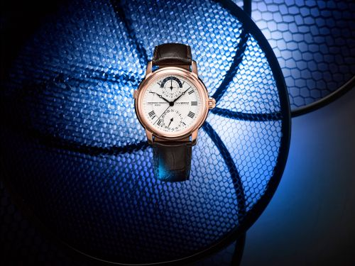 Frederique Constant's Hybrid Manufacture line focuses on analog-digital watches