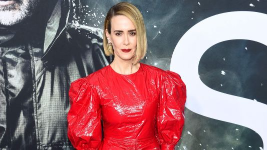 Sarah Paulson Wore One of Raf Simons's Final Designs for Calvin Klein on the Red Carpet